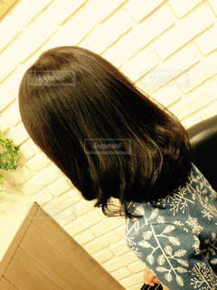 髪を切りにの写真・画像素材[1010242]