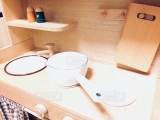 ままごとキッチンの写真・画像素材[1018413]