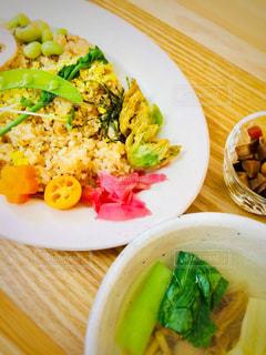 春のお食事の写真・画像素材[1053441]
