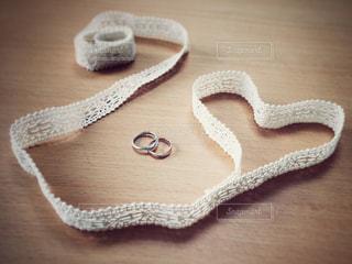 婚約指輪の写真・画像素材[1057819]