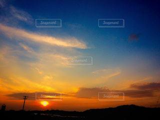 夕日の空 - No.1059155