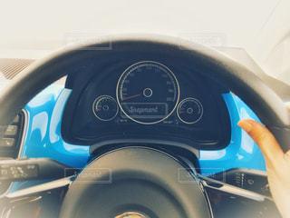 運転席の眺めの写真・画像素材[1132133]