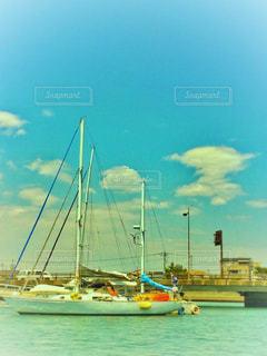 水上からの景色の写真・画像素材[1166990]