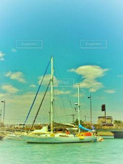 水上からの景色の写真・画像素材[1166991]