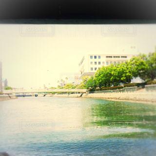 水上からの眺めの写真・画像素材[1167155]