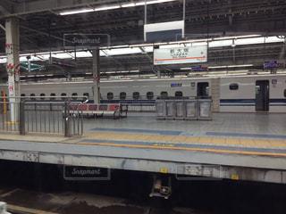 新幹線の車窓からの写真・画像素材[1167248]