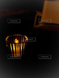 キャンドルのひかりの写真・画像素材[1175463]