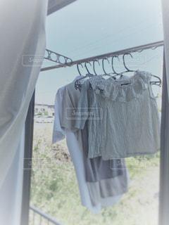 洗濯日和の写真・画像素材[1196876]