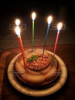 バースデーケーキの写真・画像素材[1225880]