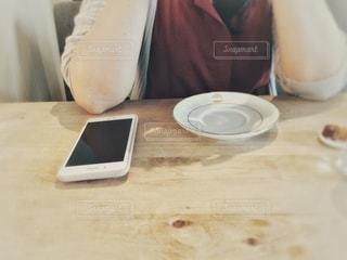 友達とカフェの写真・画像素材[1237434]