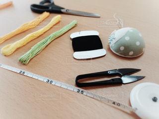 裁縫道具の写真・画像素材[1244536]