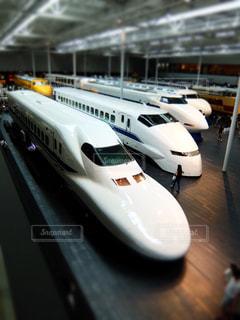 新幹線の整列の写真・画像素材[1287987]