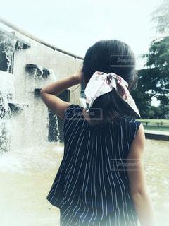 夏の公園の写真・画像素材[1393329]