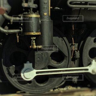 機関車の車輪の写真・画像素材[1555230]