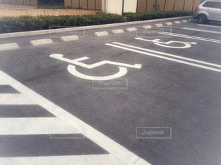 駐車場の写真・画像素材[2417726]