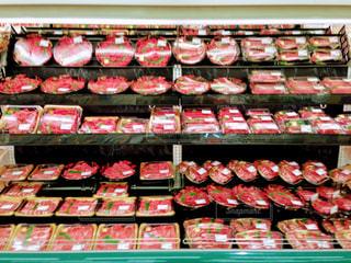 牛肉コーナーの写真・画像素材[1092904]