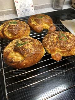 趣味のパン焼きの写真・画像素材[1316264]