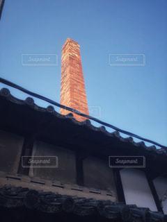 古いレンガの煙突の写真・画像素材[1786775]