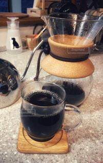 ドリップコーヒー完成の写真・画像素材[2265898]