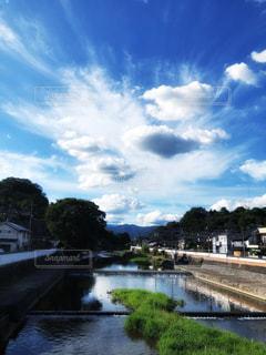 川と空の写真・画像素材[2362003]