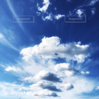 夏の空の写真・画像素材[2362005]