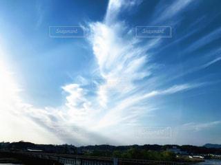 流れ雲の写真・画像素材[3040432]