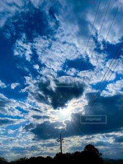 雨上がりの空の写真・画像素材[3125007]