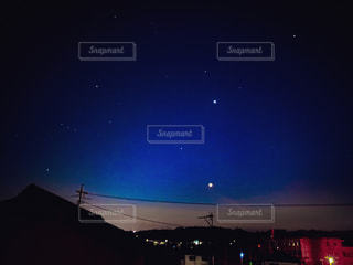 星座探しの写真・画像素材[3132844]