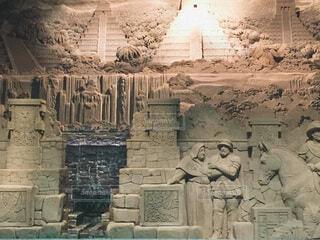 砂像の写真・画像素材[3696933]