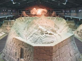 砂像の写真・画像素材[3696934]