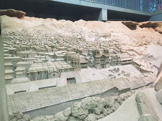 砂像の写真・画像素材[3696938]