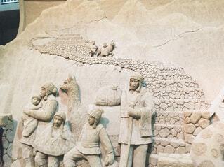 砂像の写真・画像素材[3696939]