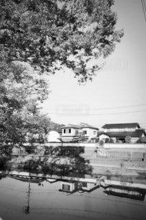 城下の名残の写真・画像素材[3879958]
