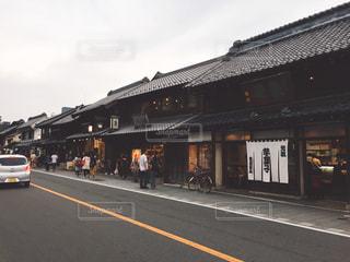 小江戸川越の街並みの写真・画像素材[971861]