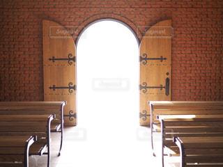 未来の扉の写真・画像素材[1062681]