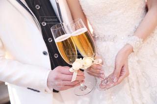 結婚式の乾杯の写真・画像素材[2339913]