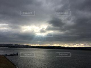 天使の梯子の写真・画像素材[976741]