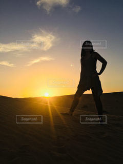 日没の前に。の写真・画像素材[973046]