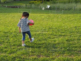 いじける子供の写真・画像素材[976179]