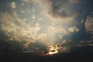 空の雲の写真・画像素材[973668]