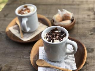 カフェモカ コーヒーの写真・画像素材[974089]