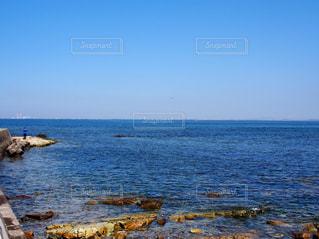 日間賀島から透き通った綺麗な海が見れましたの写真・画像素材[974302]