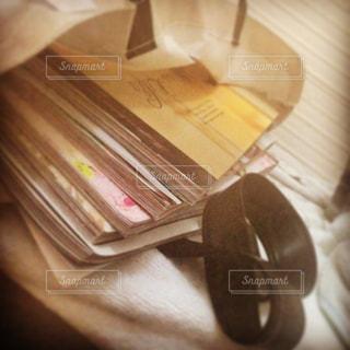 木製テーブルの写真・画像素材[974695]
