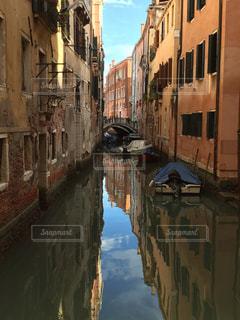 ヴェネツィアの運河、水路の写真・画像素材[977283]