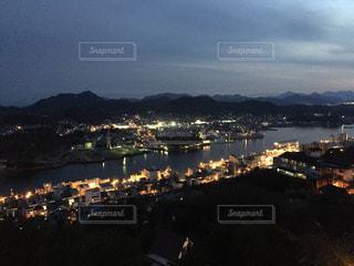 尾道の夜景の写真・画像素材[991729]