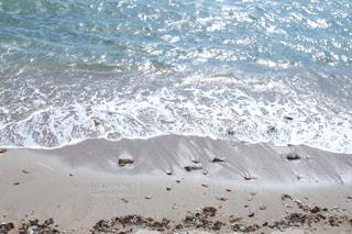 波打ち際の写真・画像素材[1072913]