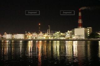 四日市工場夜景の写真・画像素材[1522036]
