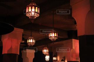 おしゃれなランプの写真・画像素材[1850703]