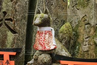 伏見稲荷のお稲荷さんの写真・画像素材[2230933]