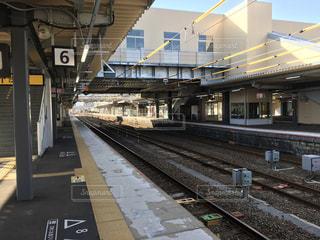 JR西日本 山陽本線 岩徳線と、錦川清流線の岩国駅。の写真・画像素材[975549]